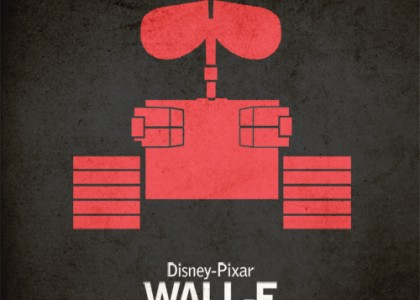 Wall-e: cartaz vintage