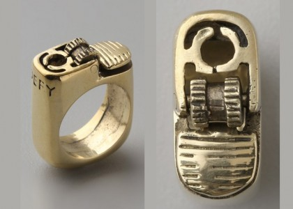 Lighter Ring (Anel isqueiro)