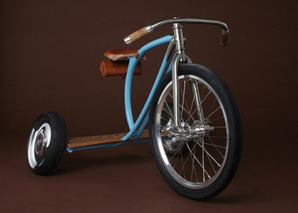 Triciclo com visual oldstyle