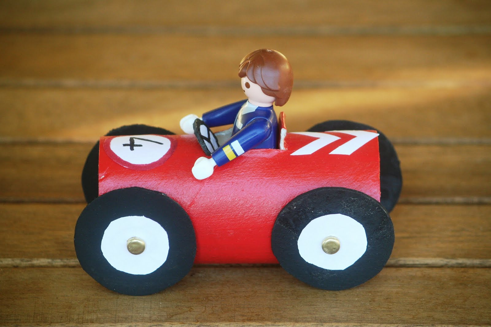 Race Car Toilet Paper Roll Crafts