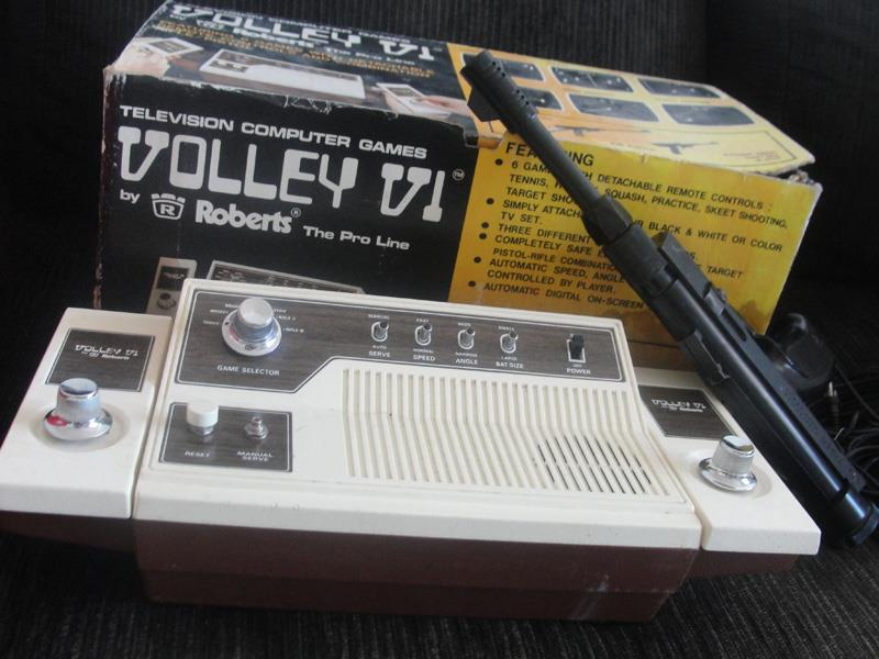 Videogame antigo - Roberts Volley - 1977
