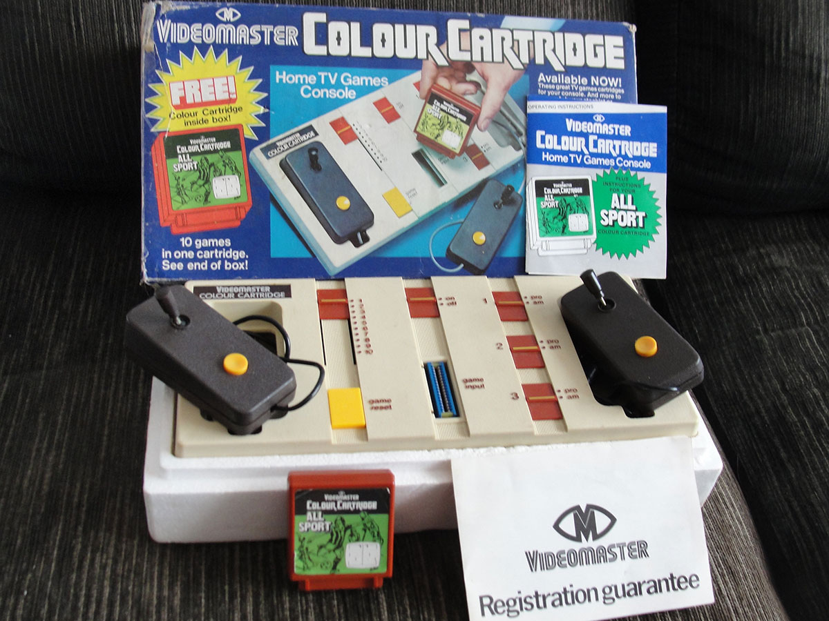 Videogame antigo - VideoMaster Color Cartridge