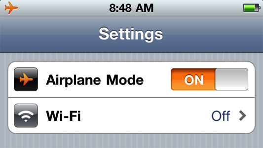 modo-aviao-ativado-iphone